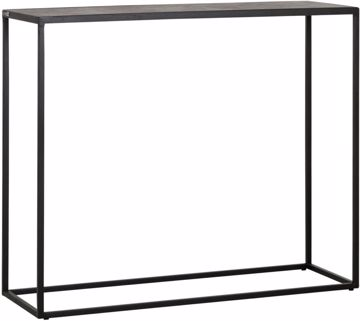 Afbeeldingen van MUST LIVING Side Table Harmony Black Bazalt 90 cm