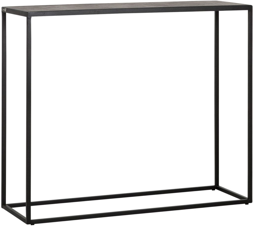MUST LIVING Side Table Harmony Black Bazalt 90 cm