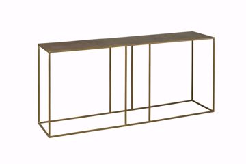 Afbeeldingen van Tower Living  Etching Side-Table 150 cm IJzer