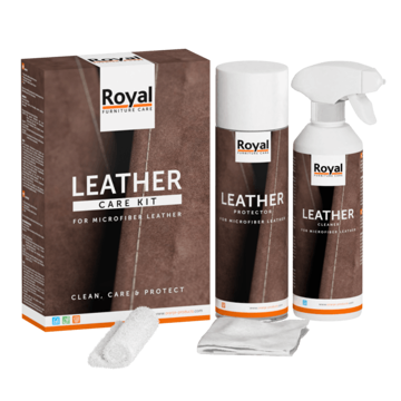 Afbeeldingen van Microfiber Leather Care Kit