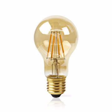 Afbeeldingen van WiFi Smart LED filament gold lamp pear E27
