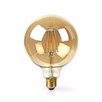 Afbeeldingen van Wi-fi smart led filament gold lamp ball e27