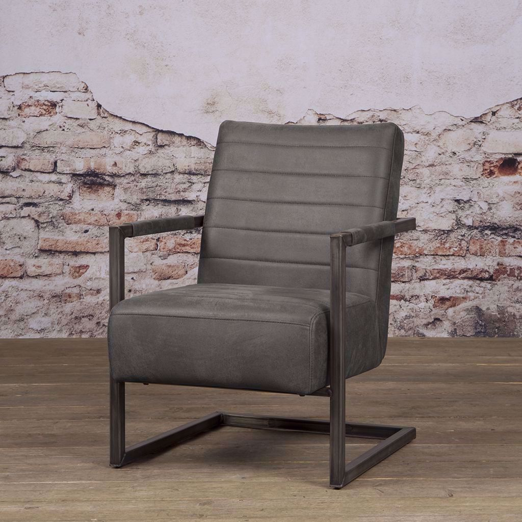 Tower Living Rocca Fauteuil Antraciet Bull [+€225,00]
